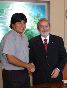 Morales e Lula