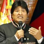 Evo Morales presidente della Bolivia