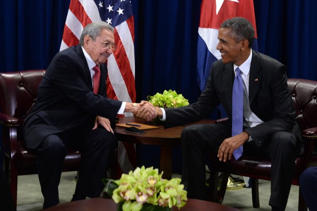 Obama - Castro