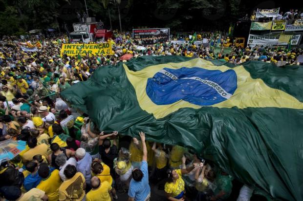 Manifestazione in Brasile