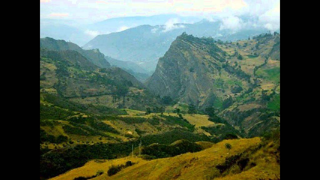 Paesaggio Colombia