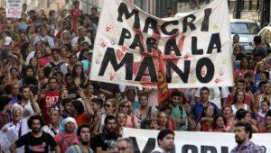 Manifestazioni in Argentina