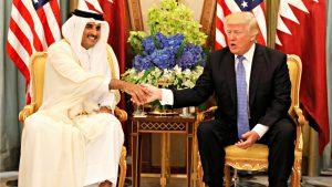Donald Trump in Qatar