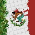 Bandiera del Mezzico, Marijuana e Sangue