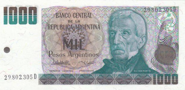 Pesos Argentino