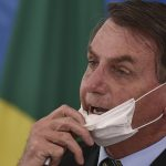 Bolsonaro Mascherina