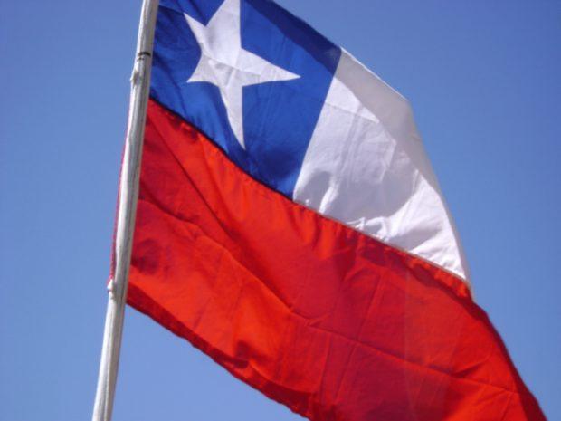 Cile Bandiera