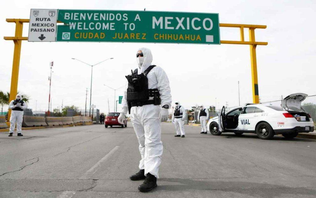 Frontiera con il Messico